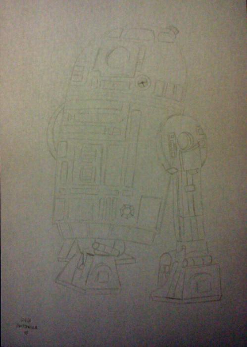 R2-D2 par Cerasus